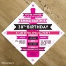 Personalised Birthday / Wedding Party Invite