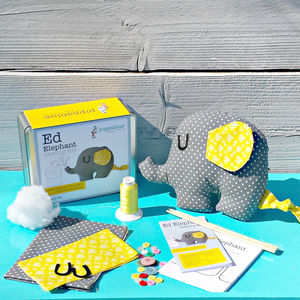 Ed Elephant Sewing Kit - creative activities