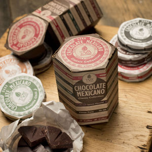 Six Mexican Style Chocolate Discs Gift Pack - food gifts