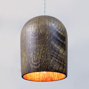 Oak Pendant Lamp - office & study