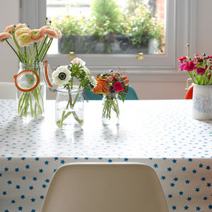 Blue Star Oilcloth - tableware