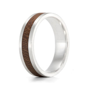 Wood Ring Native Komfort - wedding fashion