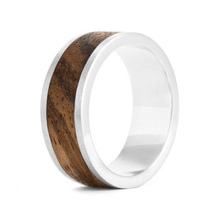 Wood Ring Native Chunk - wedding rings