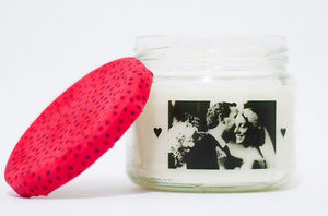 Personalised Photograph Candle - occasional supplies