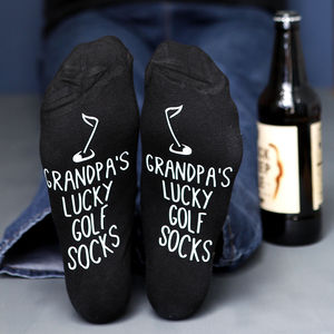 Personalised Golf Socks - gifts under £15