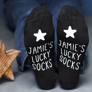 Lucky Socks - personalised gifts