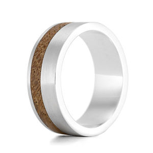 Kindle II Silver And Wood Ring - rings