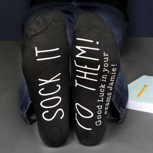 'Sock It To Them' Personalised Socks