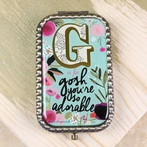 Disaster Designs 'G Is For…' Compact Mirror