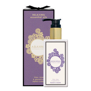 Lilac Rose And Geranium Hand Cream - new in health & beauty