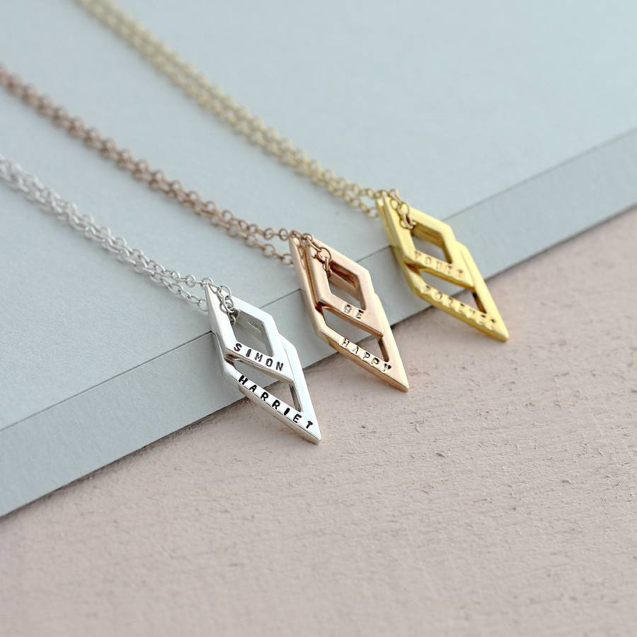 new initial personalized chain love feet with baby name milkandhoney chains necklace and logo mom for jewelry collections birthstone silver