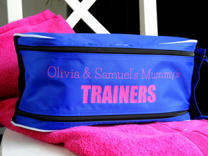 Personalised Trainers Bag - boot bags