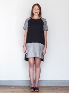 Front Pocket Dress | Linen