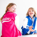 Personalised Child's Varsity Jacket