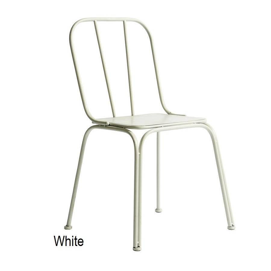 Downtown Metal Chair By Bell Amp Blue Notonthehighstreet Com