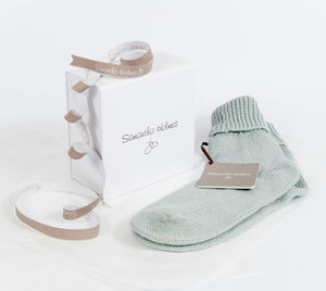 Alpaca And Bamboo Bedsocks Option To Personalise - loungewear