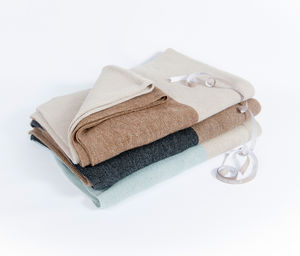 Alpaca Luxury Duotone Throw - throws, blankets & fabric