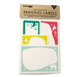 Self Adhesive Labels : Festive