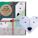Origami Notepaper Set : Polar Bear