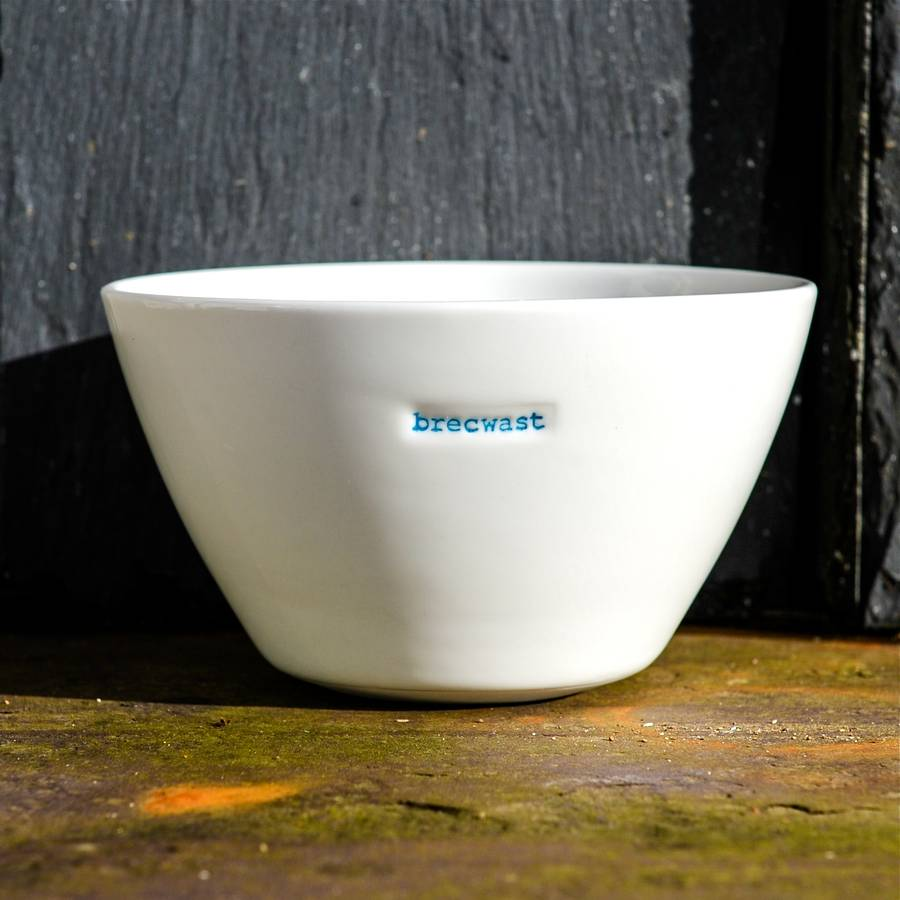 'Brecwast' Breakfast Bowl