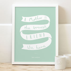 Mum Personalised Print