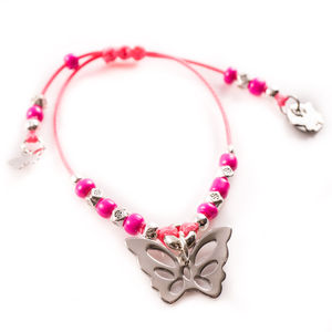 Kids Butterfly Friendship Bracelet - children's jewellery