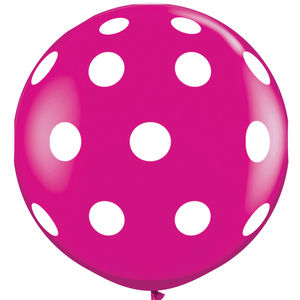 Giant 3ft Spotty Balloon