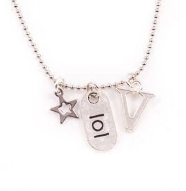 Lol Personalised Charm Necklace