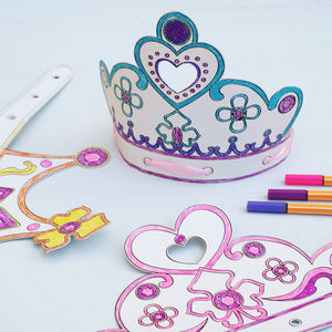 Princess Colour In Party Tiaras And Crowns