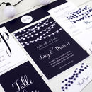 Nightgarden Wedding Invitation