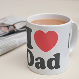 Personalised 'I Heart…' Mug