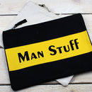 'Man Stuff' Bag