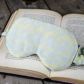 Lemon And Blue Silk Eyemask - health & beauty