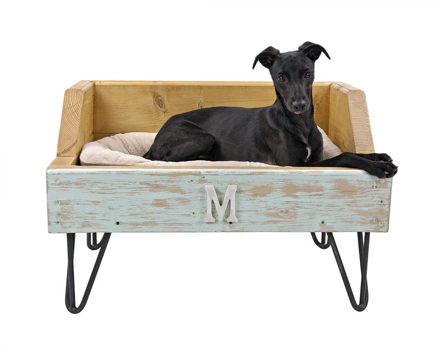 Bespoke Raised Dog Or Pet Bed