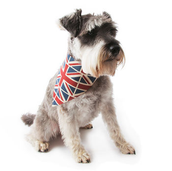 Union Jack Dog Neckerchief
