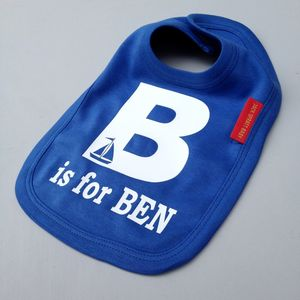 Alphabet Bib - new baby gifts