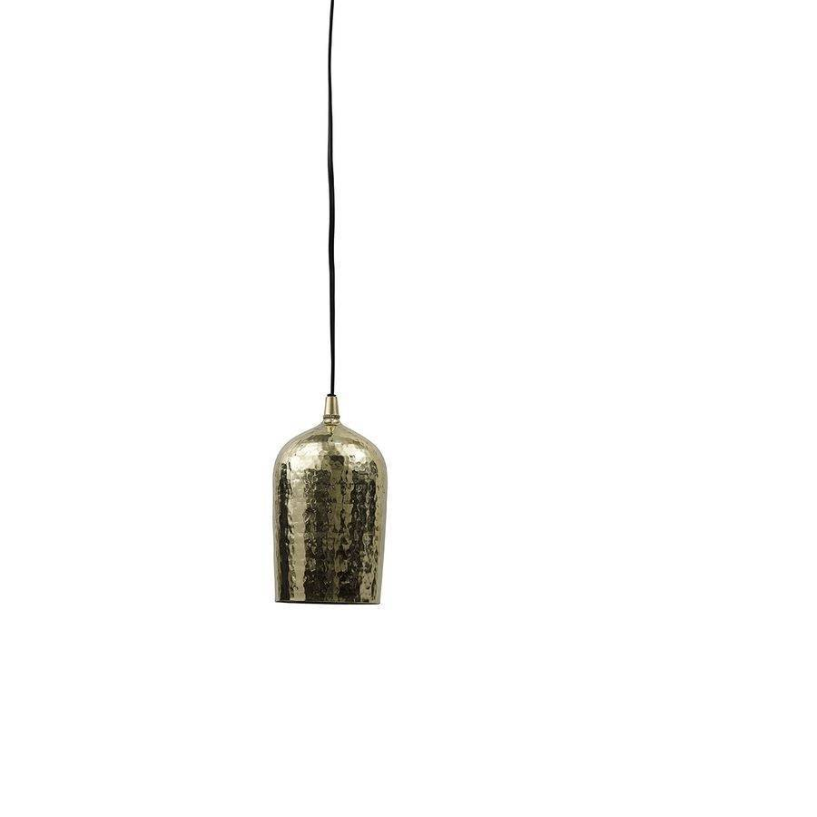 Hammered effect gold ceiling lamp by posh totty designs for Hammered gold floor lamp