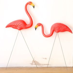 Retro Garden Flamingo Set - art & decorations