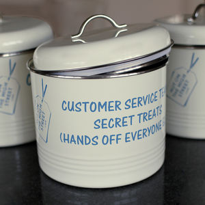 Corporate Personalised Biscuit Barrel