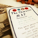 'The Character Map' Writing Prompts Map