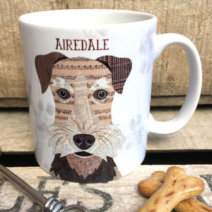 Airedale Dog Mug - dining room