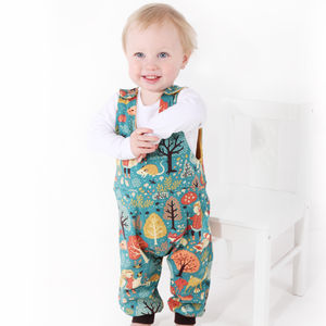 Woodland Romper - all in-ones for children