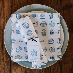 'Save Room For Dessert' Napkin - tableware