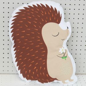 Honey The Hedgehog Cushion - patterned cushions