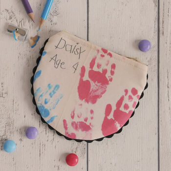 Personalised Child's Drawing Coin Purse