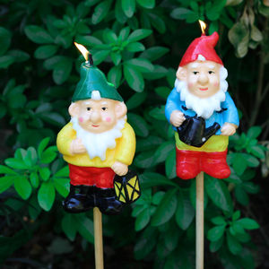 Gnome Candle Torch - home accessories