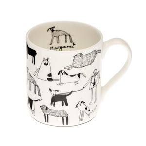 Dogs Mug - crockery & chinaware