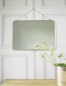 Antique Silver Wall Mirror - mirrors