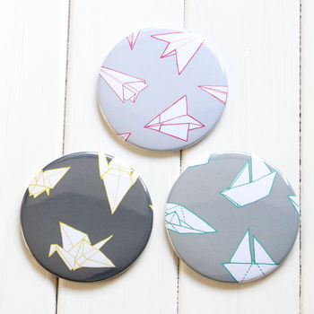 Origami Pocket Mirror