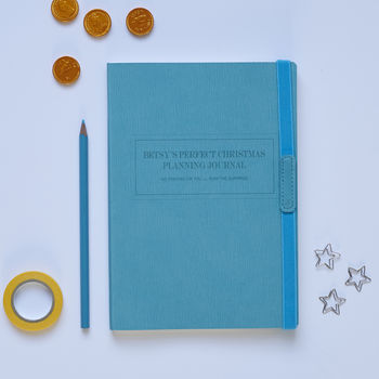 Personalised Christmas Planning Journal